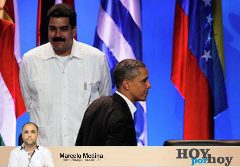 Tolerancia cero para Maduro ¿y para Obama?