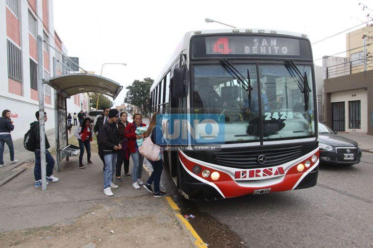Aumentaron el tope salarial para acceder al boleto obrero en Paraná