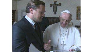 Di Caprio recibió un reconocimiento en el Foro de Davos.