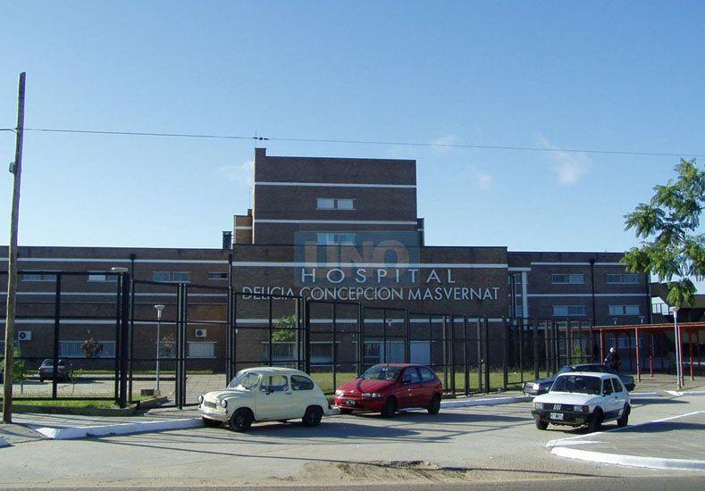 El hombre de 67 años se encuentra internado en el hospital Masvernat de Concordia.  Foto UNO/Archivo ilustrativa