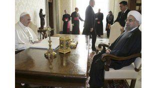 Diálogo directo. El Papa argentino le habló francamente de las guerras y los grupos extremistas.   Foto: AP