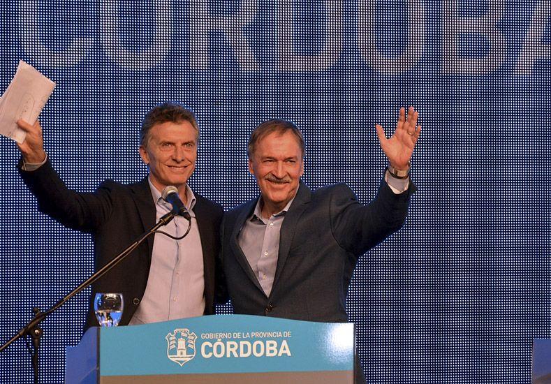 Macri con Schiaretti habló de temas puntuales que afectan a Córdoba capital.