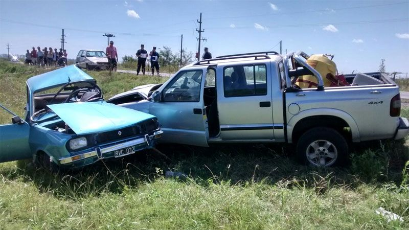 Un muerto más en las rutas de la provincia por un choque brutal