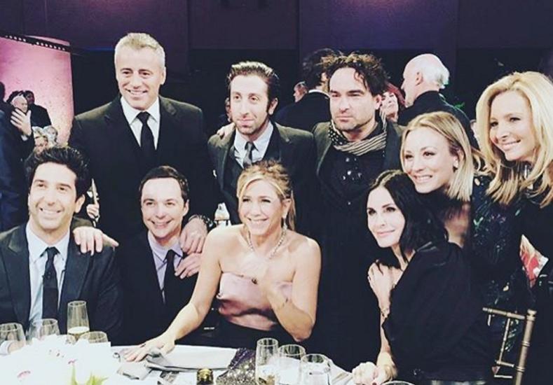 La primera foto del reencuentro de Friends