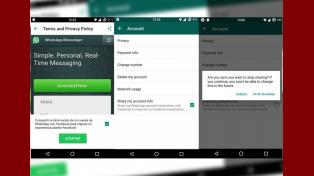 WhatsApp comenzaría a compartir datos de usuarios con Facebook