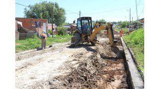 Infraestructura. El municipio brinda soluciones a los vecinos.