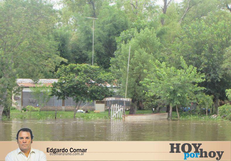 El origen de las inundaciones