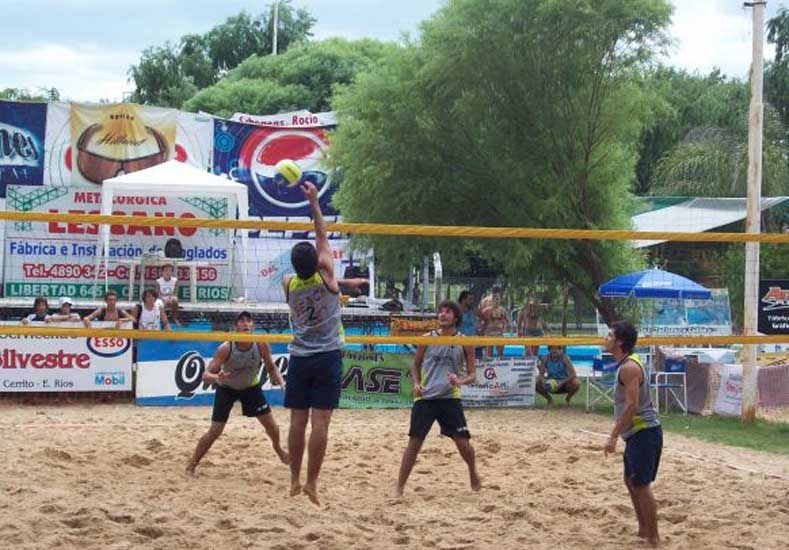 Cerrito se prepara para la 14ª Fiesta del Beach Voley