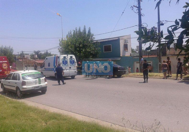 El choque en Artigas dejó una mujer herida y a muchos sin la siesta