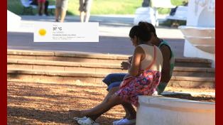 Paraná es un horno: se espera una máxima de 40ºC