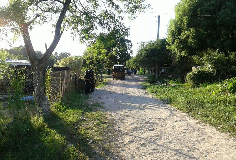 Secuestro de armas y drogas en barrio Humito