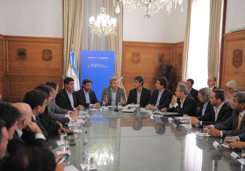 Frigerio recibió a las provincias para discutir la reforma electoral