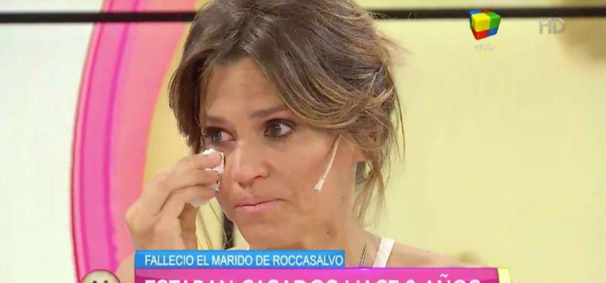 Damián Rojo y María Freytes, conmovidos por la muerte del esposo de Roccasalvo