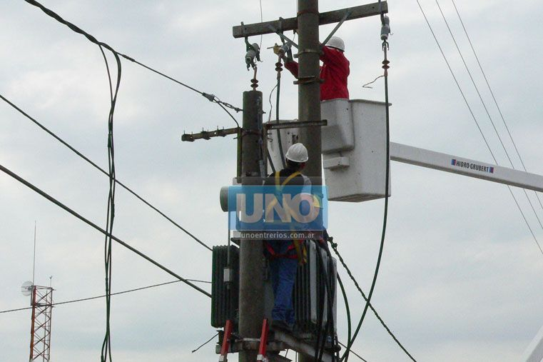 Anticipan posibles inconvenientes en el servicio eléctrico en el centro de Paraná