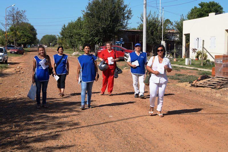 Dengue: agentes sanitarios recorren los barrios de Chajarí