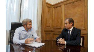 Reunión Bordet -Frigerio: Evalúan la necesidad de redefinir el esquema de coparticipación