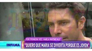 Matías Alé: Estoy vulnerable, sensible, descarnado
