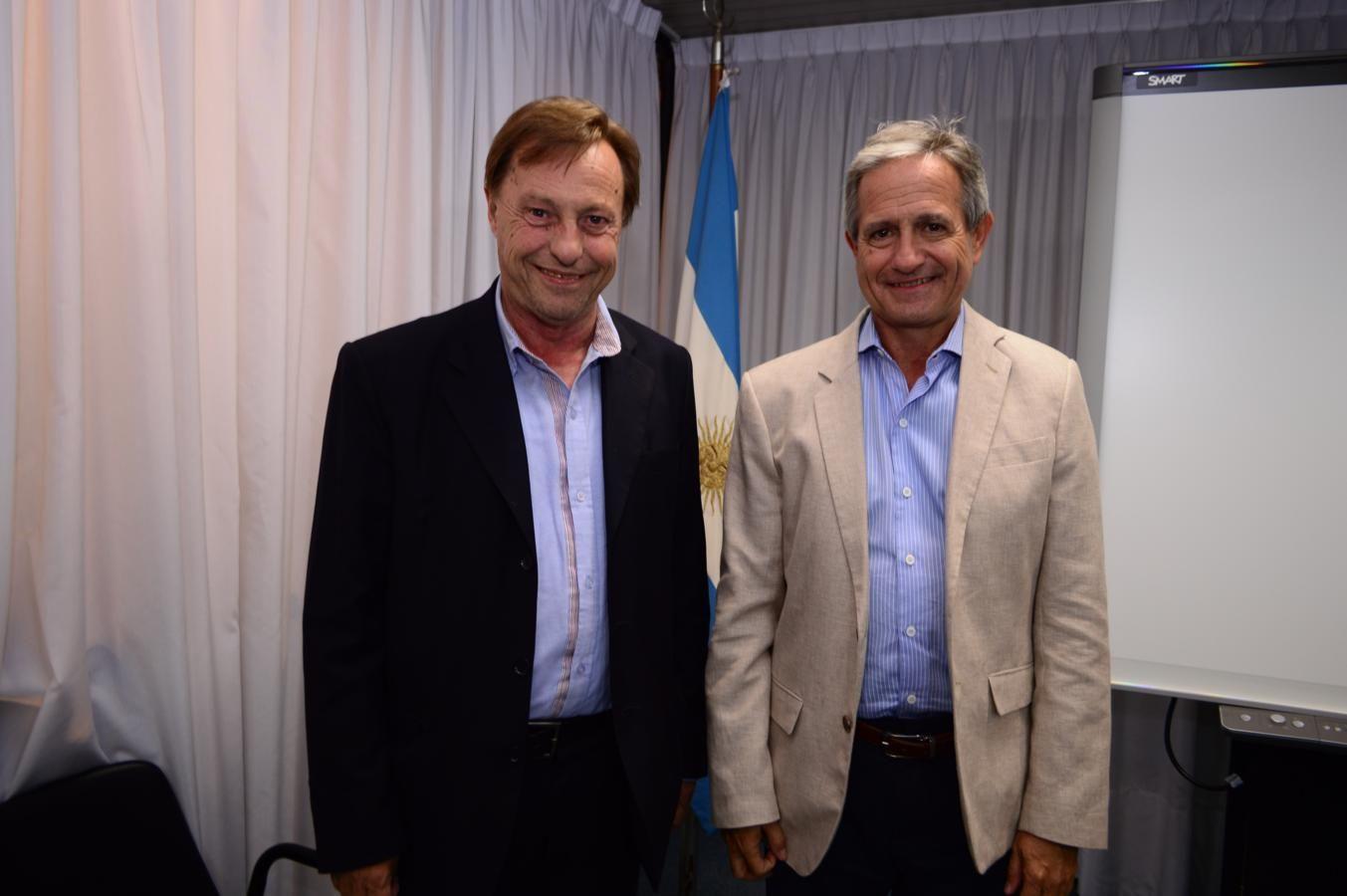 Varisco planteó la posibilidad de hacer efectivo el programa Paraná Digital