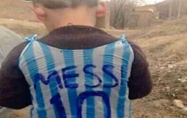 El nene que idolatra a Lio Messi y conmovió al mundo