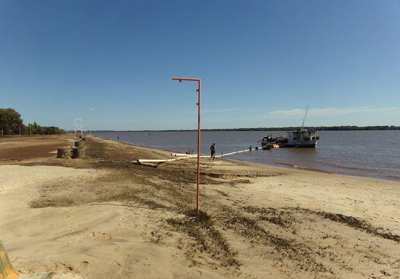 Colón trabaja para recuperar las playas