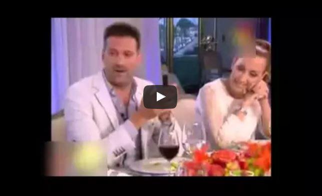 El papelón de Listorti en la mesa de Mirtha con Florencia Arietto
