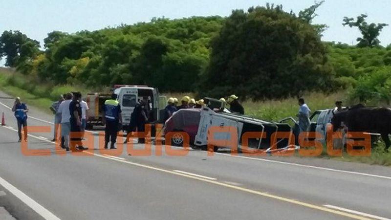 Conductor se durmió al volante y perdió la vida en Ruta 26