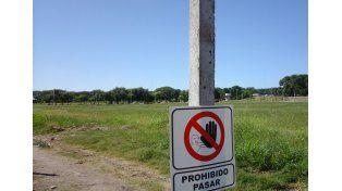 Cerrarán las canchas de fútbol públicas en el exhipódromo.