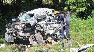 Cuatro integrantes de una familia entrerriana murieron en un accidente en Uruguay