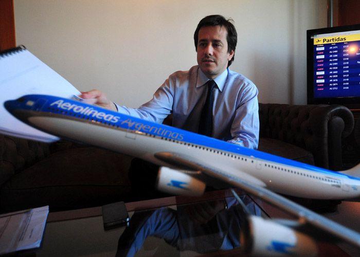 Mariano Recalde defendió el acuerdo que Aerolíneas tenía con Sol y que ahora la administración Macri rescindió.