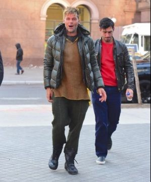 Ricky Martin, de paseo con su novio por las calles de Nueva York