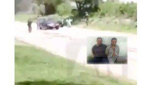 Cristian Lanatta y Víctor Schillaci no son los que aparecen en el polémico video