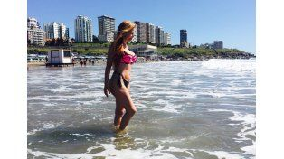 Graciela Alfano mostró su cuerpo en La Feliz