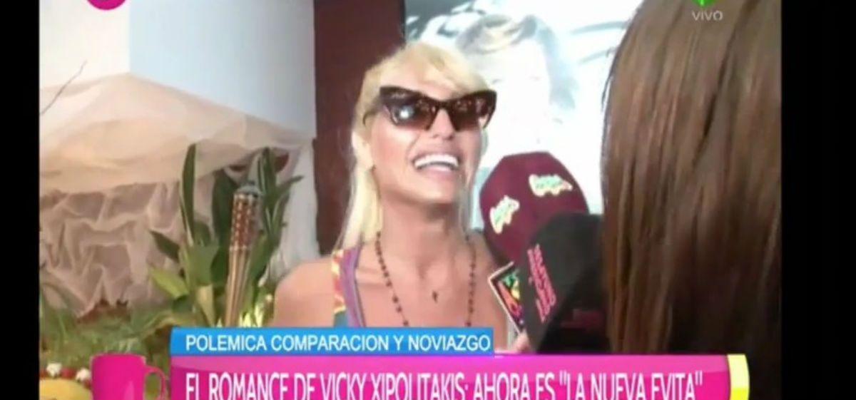 """Ego al mango: Vicky Xipolitakis se cree la """"Nueva Evita"""""""