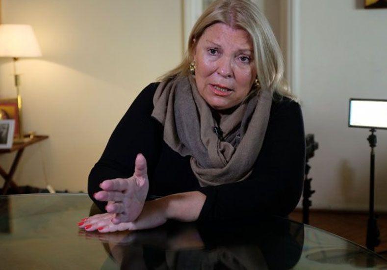 Carrió acusó a Bonfatti de esconder a los prófugos para ridiculizar al gobierno nacional