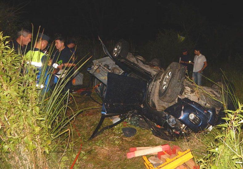 Murieron dos personas en un choque en la Autovía 14