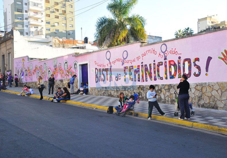 Memoria colectiva. El mural de calle Belgrano