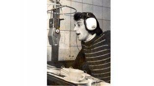 """Rinaldi. """"Vuelvo para  celebrar 40 años de radio"""""""