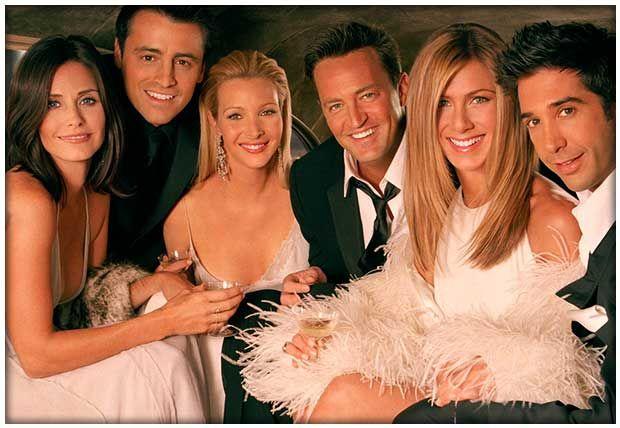 Los seis amigos vuelven a la pantalla para un programa especial.