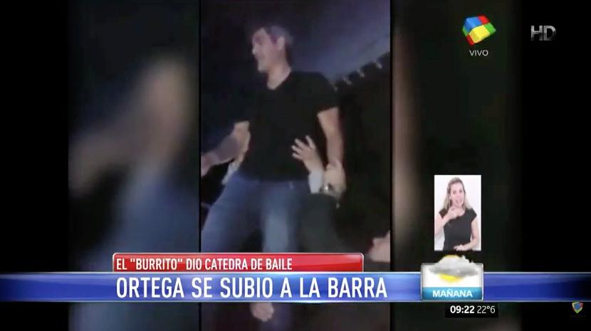El Burrito Ortega y una noche agitada en Villa Carlos Paz