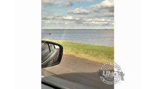 Foto: La ruta nacional 174 que une Victoria con Rosario