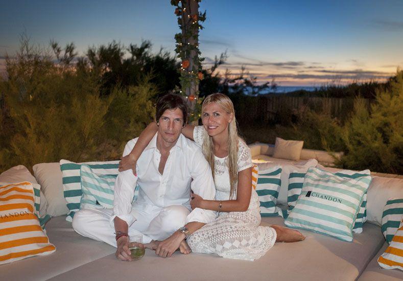 Iván de Pineda y Chandon recibieron a 400 invitados para celebrar los 10 años de une nuit blanche