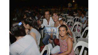 La familia concurrió a la Fiesta de los Reyes Magos en Paraná