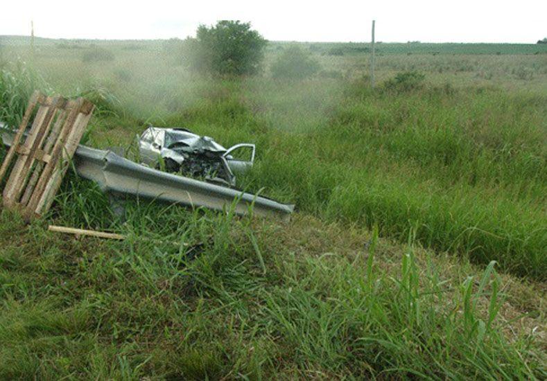 Tres jóvenes murieron en un accidente en la ruta 39