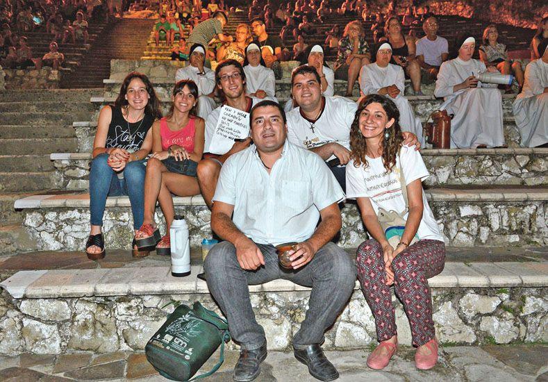 Los jóvenes celebraron la Jornada por la Paz