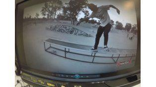 En el skatepark de Córdoba siempre se pueden ver buenas pruebas