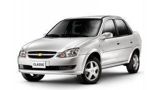 El Chevrolet Classic fue el auto más vendido durante 2015. Tras el ajuste de las fábricas en las listas de precios