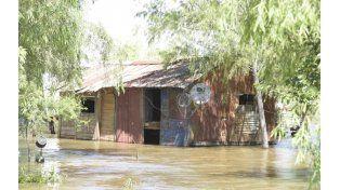 El Saco. El comedor escolar está cerrado por la inundación.
