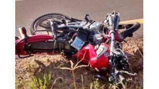 Motociclista murió en un violento impacto frontal sobre Autovía Artigas