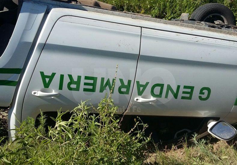 La camioneta en que escapaban