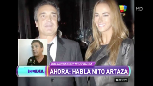 Nito Artaza defendió a su ex y negó que fuera una ñoqui del Congreso